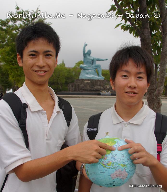 Climate Talks goes to Nagasaki - Japan