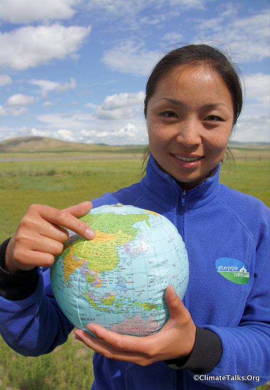 Climate Talks goes to Gun-Galuut - Mongolia