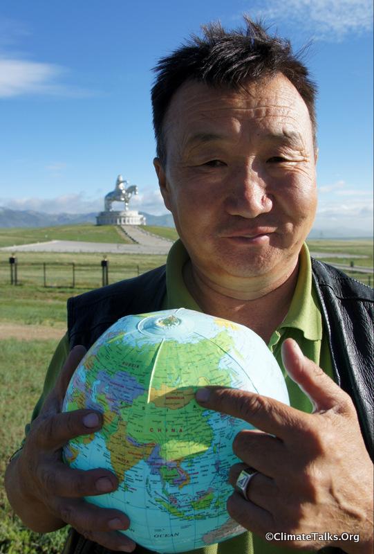 Climate Talks goes to Tsonjin Boldog - Mongolia