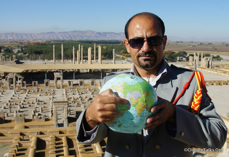 Climate Talks goes to Persepolis - Iran