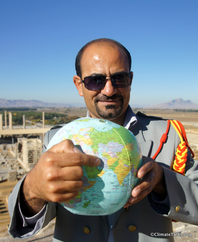 Climate Talks goes to Persepolis - Iran
