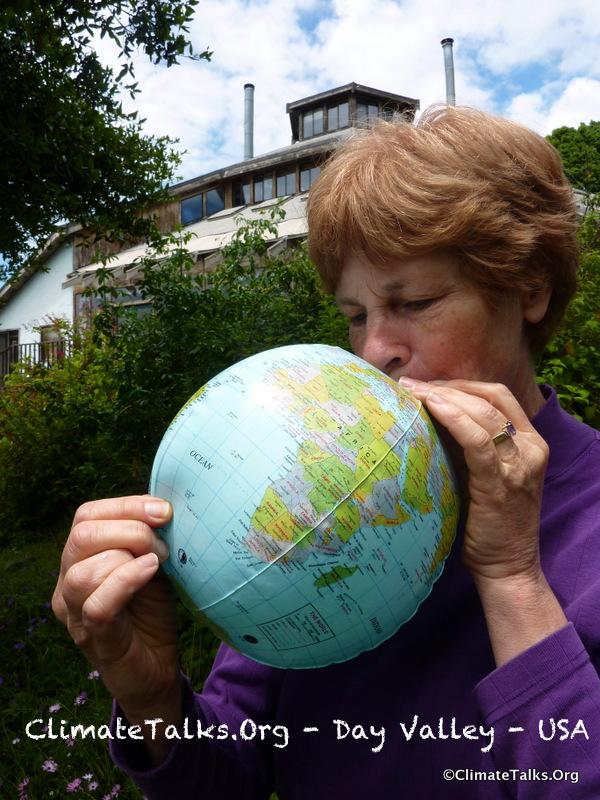 Climate Talks goes to California Near Santa Cruz - USA
