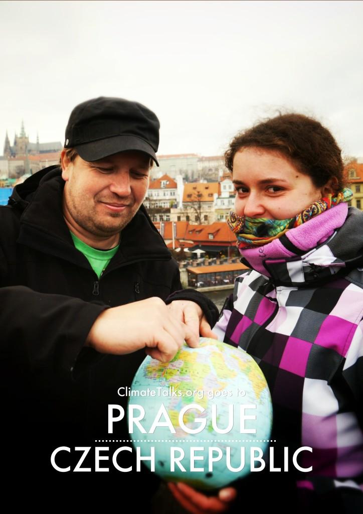 ClimateTalks.org goes to Prague - Czech Republic
