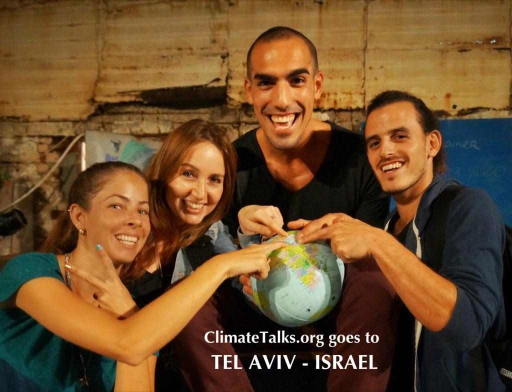 ClimateTalks.org goes to Tel Aviv - Israel