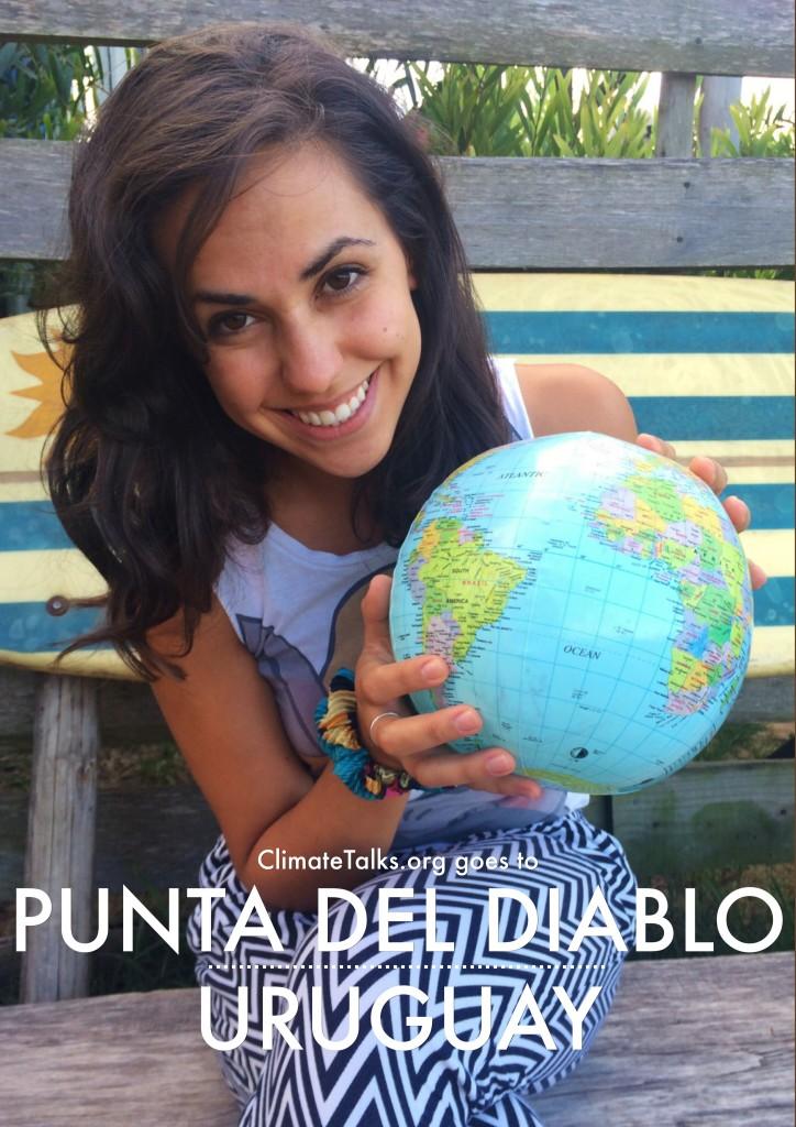ClimateTalks.org goes to Punta del Diablo - Uruguay
